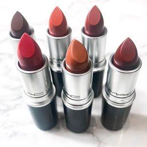 """MAC """"Nudes"""" Lipstick Bundle"""